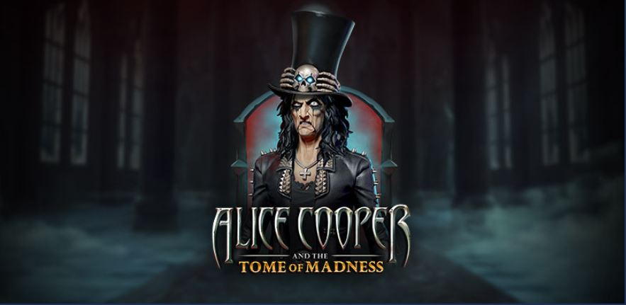 """The Family Enlarges! After Rich And Cat Here is """"Alice Cooper And The Tome of Madness""""!"""