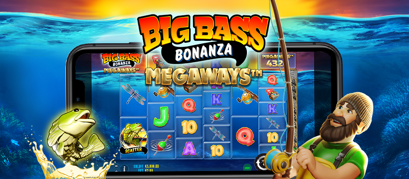 """Another Quick Sequel """"Megaways""""! In November Here is the Big Bass Bonanza Megaways!"""